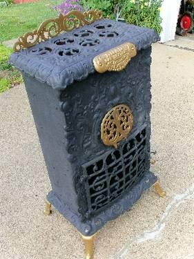 ANTIQUE HARDWICK STOVE VINTAGE OVEN PRIMITIVE KITCHEN