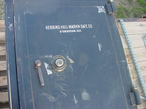 antique herring hall marvin safe - $300