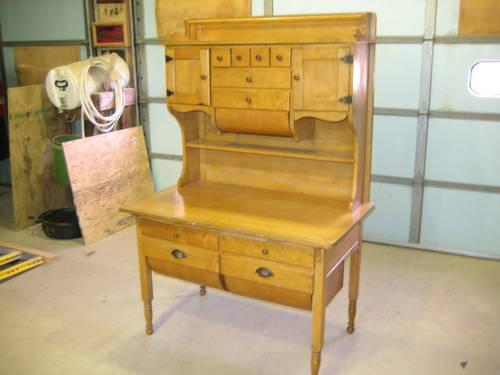 Antique Hoosier CabinetHutchBakers Cabinet