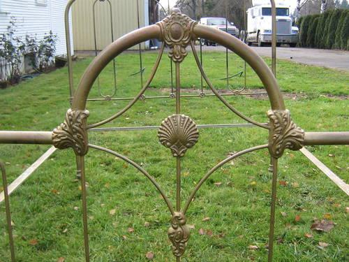 Antique Iron Bed Frame for Sale in Warren, Oregon Classified ...