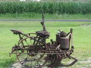 Antique John Deere Corn Planter Marysville Oh For