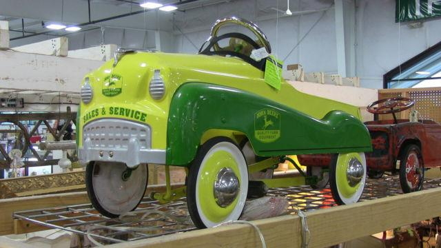 Antique John Deere Pedal Car For Sale In Denver, Colorado
