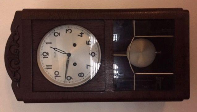 Antique Kienzle Wall Clock (Working Condition)