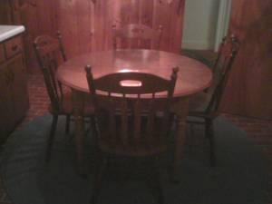 Antique Kitchen Table 4 Chairs Decatur Il For Sale In Decatur Illinois Classified