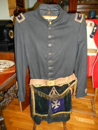 Antique Knights Templar Uniform For Sale In Hyde Park