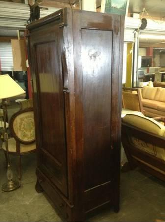 Antique Knock Down Wardrobe - $200