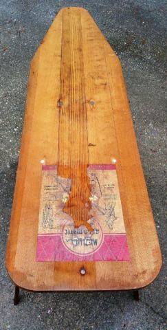Antique Maid Of Honor Brand Wood Ironing Board For Sale In