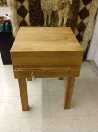 Antique Maple Butcher Block Table Bloomington For Sale In Bloomington Indiana Classified