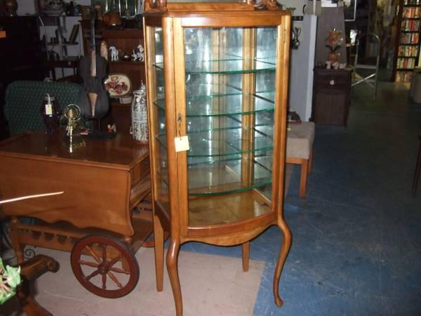 Antique Medical Display / China Cabinet - $450