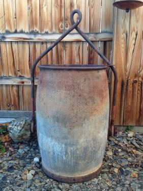 Antique Mining Ore Bucket For Sale In Sparks Nevada