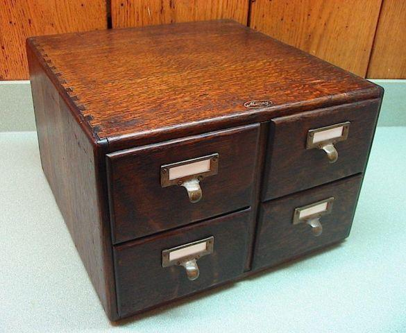 antique oak 4 drawer file cabinet signed macey numbered for sale in concord ohio classified. Black Bedroom Furniture Sets. Home Design Ideas