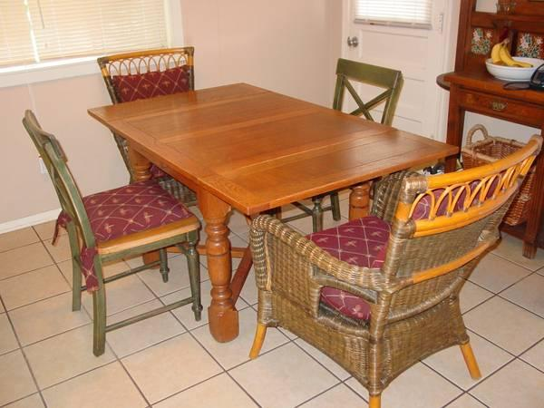 Antique Old English Pub Table Chairs Set For Sale In North Little Rock A