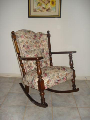 Antique Original Philadelphia Rocking Chair - 1930