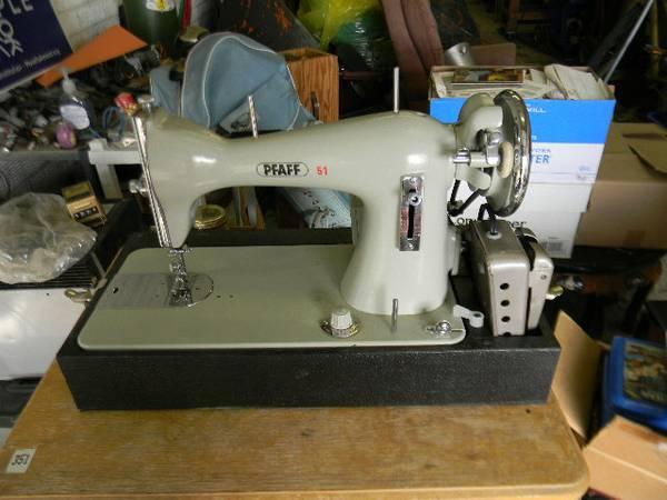pfaff 51 sewing machine