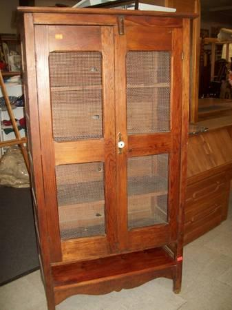 Antique Pie Safe 4107 Reduced Was For Sale In Toms