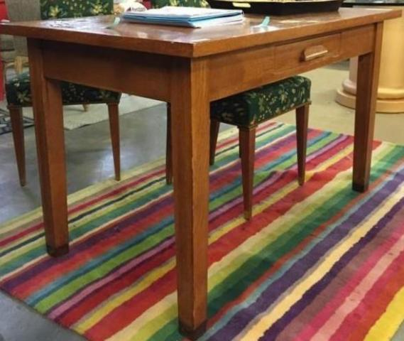 Antique Postal Library Table Delivery Avail