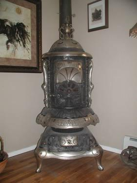 Antique Pot Belly Stove June 13 1899 For Sale In