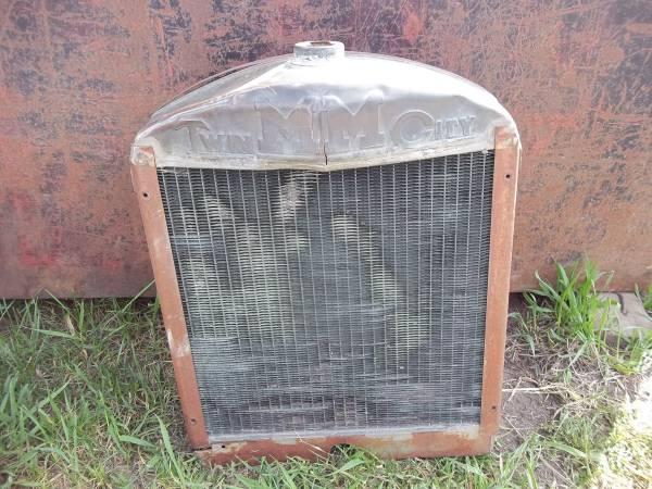 Lawn Mower Radiator : Antique radiator from minneapolis moline jt tractor for