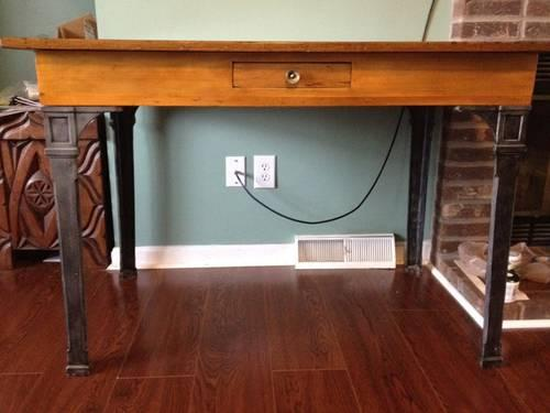 Antique railroad station desk for sale in bowling green for Railroad stations for sale