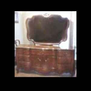 Antique Reproduction Bedroom Furniture - $400