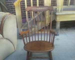 Antique Rocking Chair School Desk Pueblo Co For Sale In Pueblo Colorado Classified