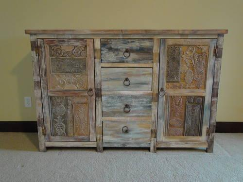 Antique Rustic Sideboard