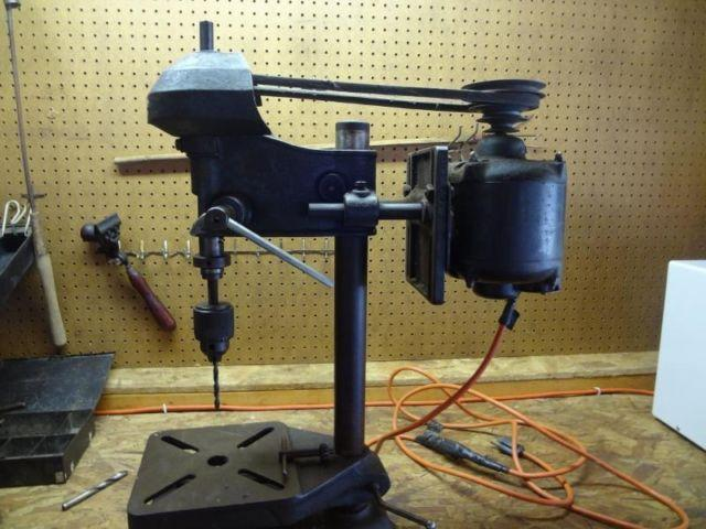 Antique Sears Roebuck Dunlap Bench Drill Press Model 101