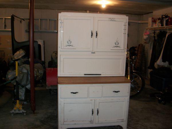Antique Sellers Hoosier Kitchen Cabinet - (Linden) for ...