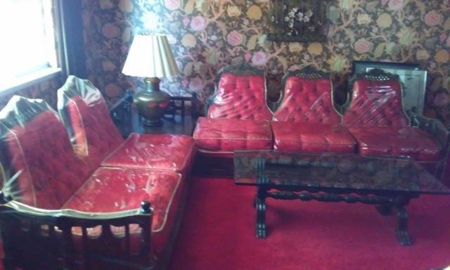 Antique Sofa and Dining SEt