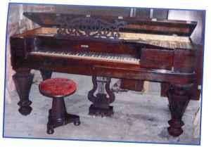 Antique Square Grand Piano - $1800 PensacolaMobile