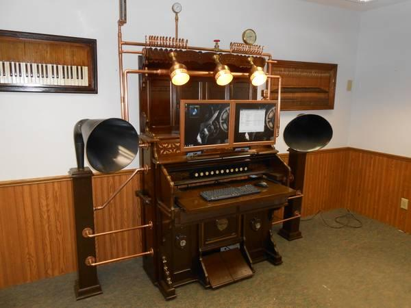 Antique Steampunk Organ Computer Amp Desk For Sale In Ames