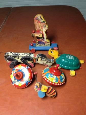 antique toys - $40