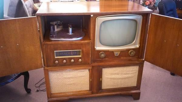 Antique Tv Radio Record Player For Sale In Denver