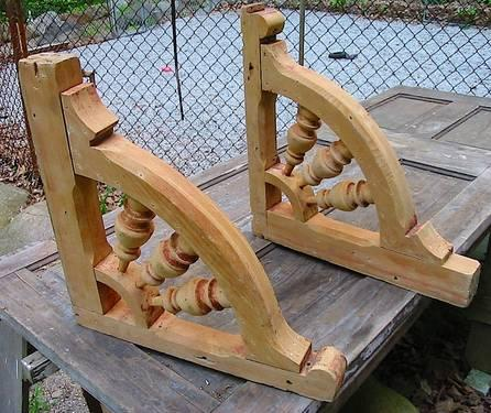 Antique Victorian Architectural Salvage Matching CORBELS