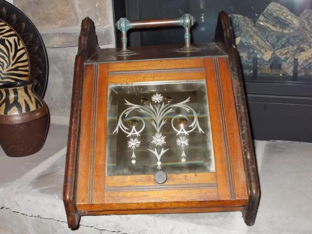 Antique Victorian English Coal Scuttle