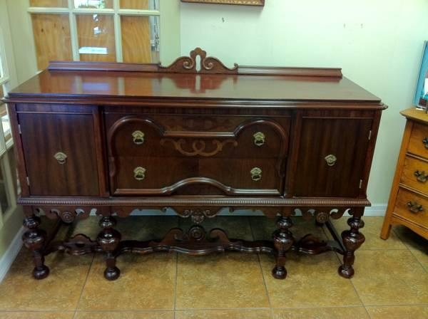 Antique Victorian Era Mahogany Buffet - $995