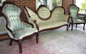Superieur Antique Victorian Sofa U0026 (2) Chair Set! WOW!   $1250