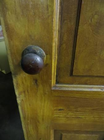 Antique Vintage 4 Panel Door For Sale In Springfield