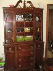 Antique Vintage China Hutch Denver Waverly For Sale In