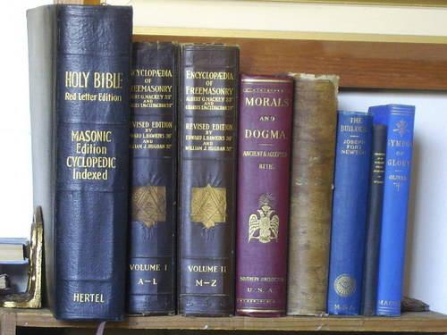 Antique & Vintage Masonic (Freemasonry) Book Collection