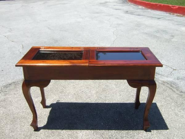 Antique Window Box Sofa, Hall or Console Table - $199