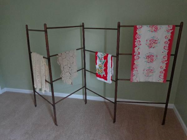 Antique Wood Linens Quilt Hanger Display Rack For Sale In Odenton Maryland Classified Americanlisted Com