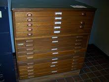 Antique wooden blueprint art file cabinet tulsa for sale in antique wooden blueprint art file cabinet 600 malvernweather Images