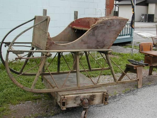 how to build a set of wooden wagon sleds
