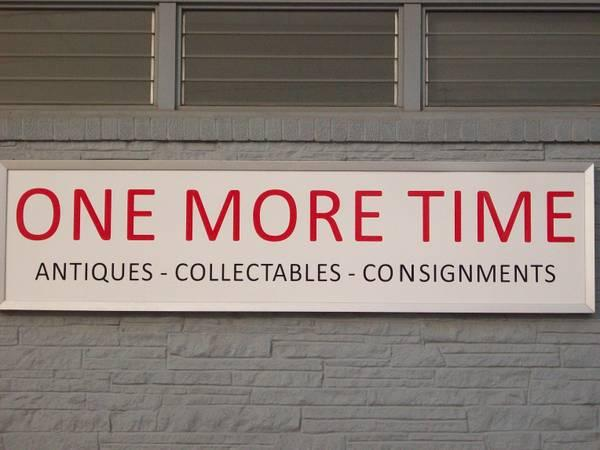 Antiques, Collectables, Stained Glass - ONE MORE TIME