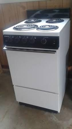 apartment size electric stove for sale in cortland