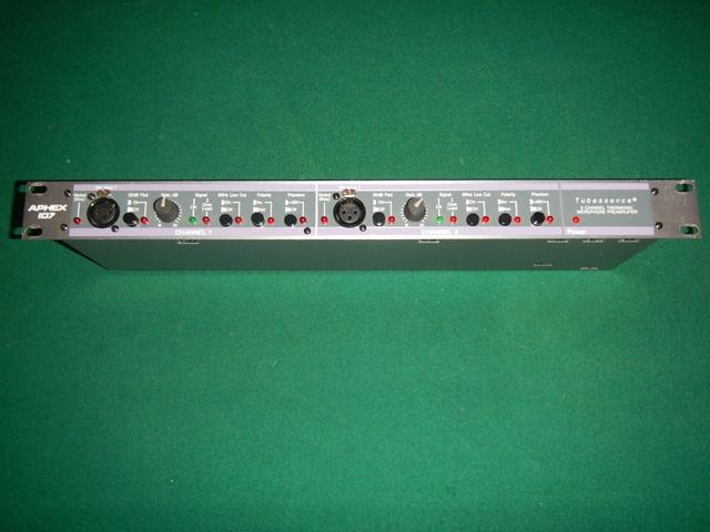 Aphex Model 107 Dual Channel Tube Microphone Preamplifier