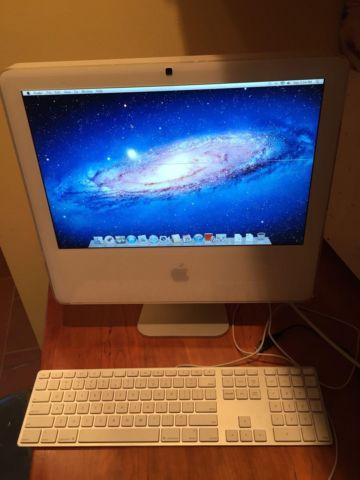 Apple iMac A1195 OSX Lion 2.5GB 160GB 17 All In One Computer