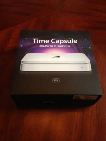 **APPLE TIME CAPSULE 1TB** - $100