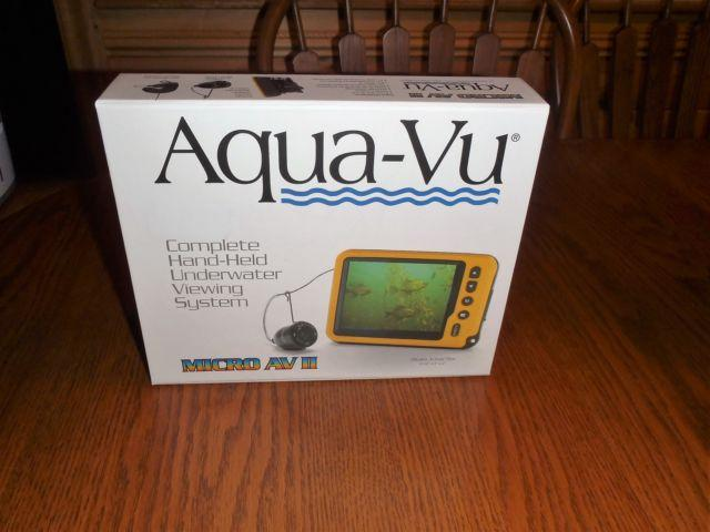 Aqua-Vu underwater viewing system